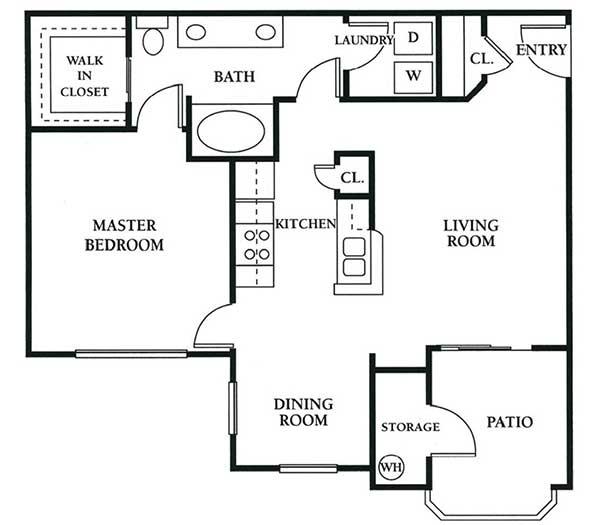 The Condominium At Williams Centre Apartments Tucson Az Floor Plans